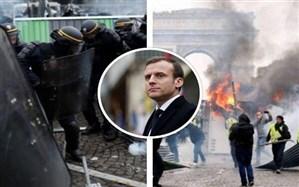 جلیقهزردها در فرانسه به خیابانهای پاریس بازگشتند