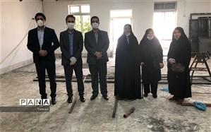 نوسازی و تکمیل پروژه مجموعه ورزشی شهید نیکوکار منطقه 8