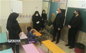 فاصله گذاری اجتماعی پس از بازگشایی مدارس منطقه4