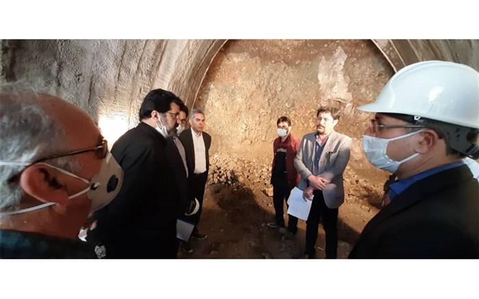 بازدید استاندار اردبیل از قطعات راه آهن اردبیل