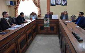 جلسه هماهنگی برگزاری امتحانات نهایی خرداد 99