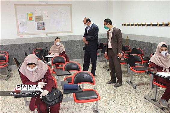 بازدید مدیرکل آموزش و پرورش استان بوشهر از بازگشایی دبیرستان شهیده سهام خیام بوشهر