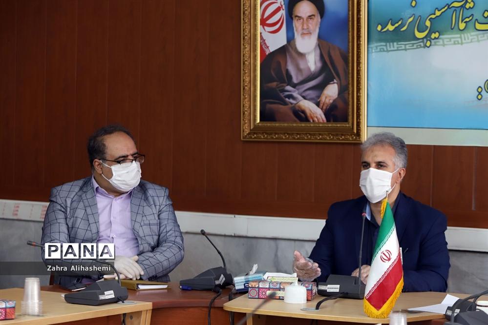نشست ناظرین و ارزیابان سرویس مدارس شهر تهران