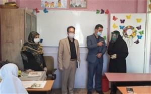 بازدید کارشناسان ارزیابی عملکرد مناطق تهران از روند بازگشایی مدارس