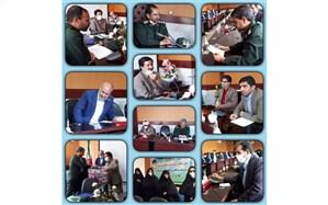 برگزاری جلسه ی تکریم و معارفه ی مسئول کانون بسیج فرهنگیان کاشمر