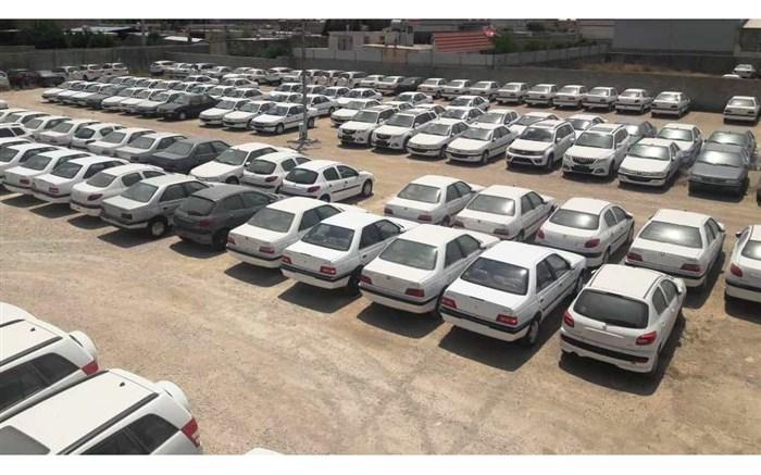 ۹۹۶ دستگاه خودروی خارجی قاچاق در پارکینگ یک مجتمع تجاری
