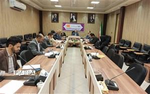 جلسه هماهنگی   روز جهانی قدس  در مدیریت آموزش و پرورش ناحیه دوبهارستان
