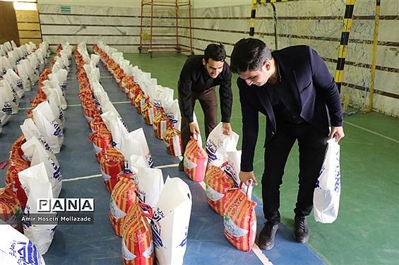 توزیع یکهزار بسته معیشتی بین نیازمندان ارومیه