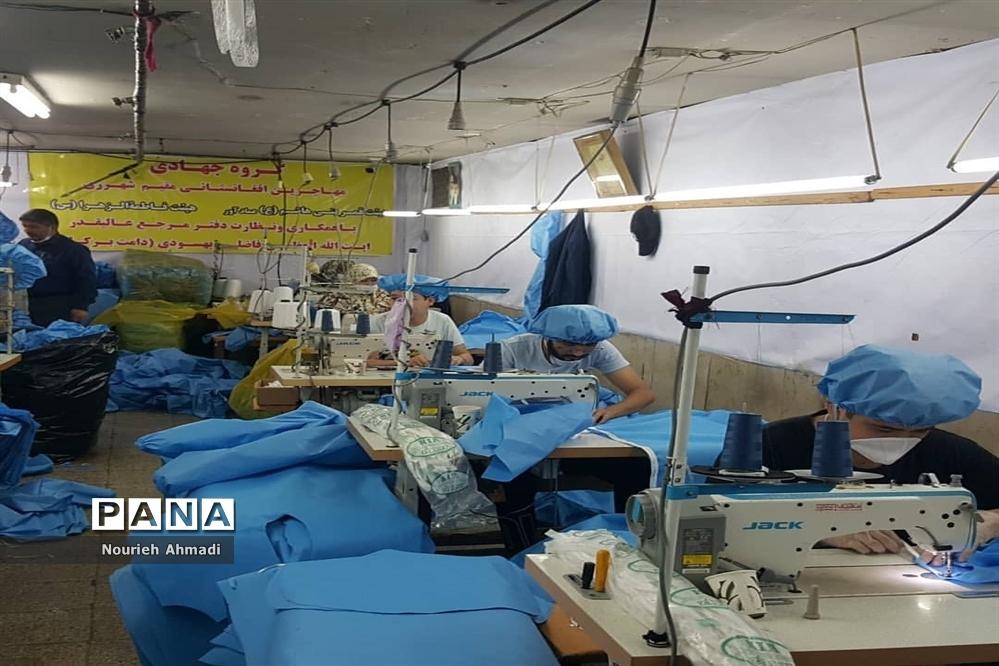 فعالیتهای قرارگاه جهادی شهید تقوی سپاه ناحیه ری در ایام مبارزه با کرونا ویروس