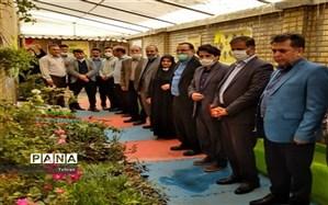 افتتاح اولین گلخانه آموزشی در منطقه ۱۱