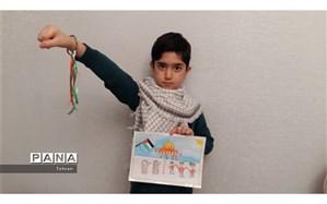 پویش راهپیمایی در خانه همدلی با کودکان مظلوم فلسطین