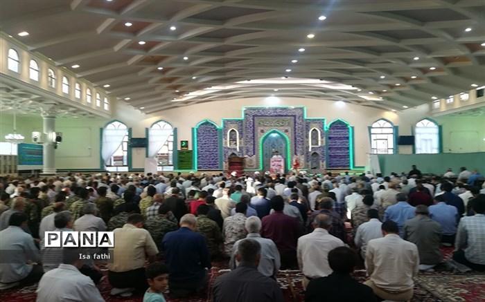 اقامه نماز عید قربان در مسجد جامع شهرستان آذرشهر
