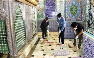 بقاع مازندران برای اقامه نماز عید فطر ضدعفونی میشوند