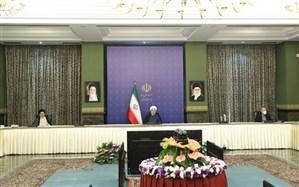 تقدیر رئیس جمهور از تلاشها و خدمات علی لاریجانی