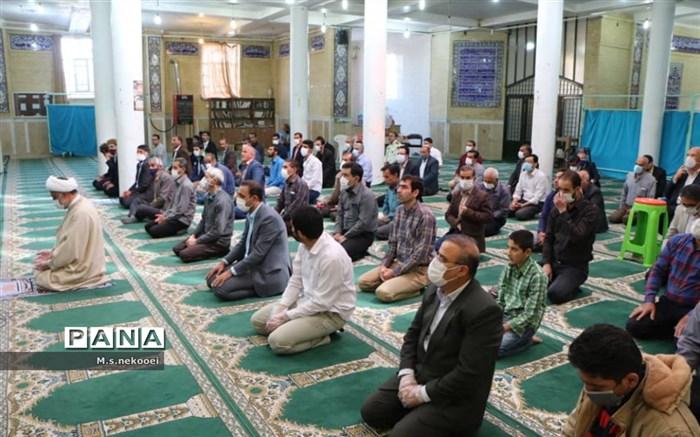 برگزاری نماز عید فطر در سامان
