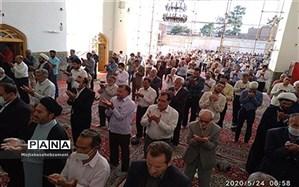 نماز عید فطر در مساجد  کاشمر برگزار شد