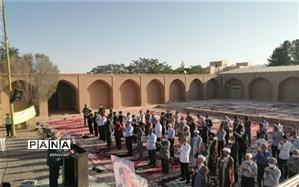 نماز عید سعید فطر در بهاباد اقامه شد