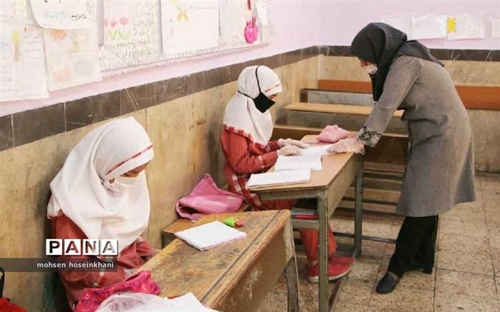 حال و هوای کرونایی مدارس قزوین
