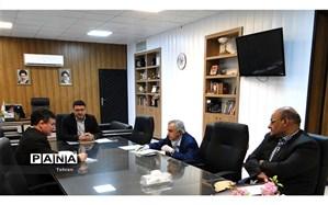 دیدار شاه منصوری با مدیر کل دفتر مشارکت های مردمی سازمان نوسازی
