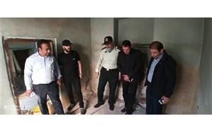 دستگیری و کشف حفاری غیر مجاز در منطقه حافظ تبریز
