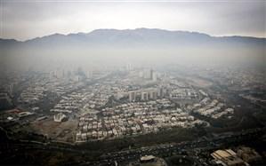 هوای تهران در مرز آلودگی قرار دارد