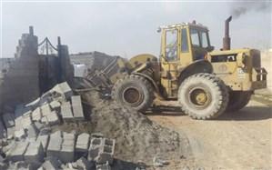 رفع تصرف504 هزار مترمربع از اراضی ملی در فارس