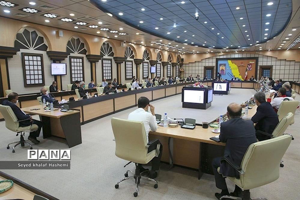 جلسه ستاد پیشگیری، هماهنگی و فرماندهی عملیات پاسخ به بحران استان بوشهر