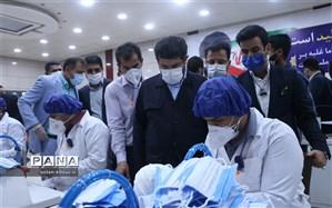 خودکفایی خوزستان در تولید ماسک  بهداشتی