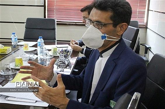 جلسه ستاد شاهد آموزش و پرورش استان بوشهر