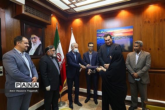 مراسم تکریم و معارفه سرپرستی خبرگزاری  جمهوری اسلامی (ایرنا) در کیش