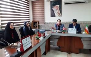 تجلیل از مدیران و مربیان فعال سازمان دانش آموزی شهرستان قرچک