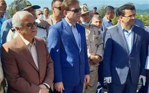 استاندار گیلان از پروژه احداث بزرگراه آستارا و بارانداز ریلی بازدید کرد