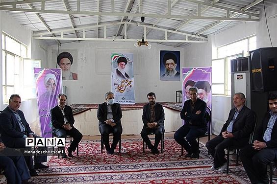 بازدیدمسئولان ادارهکل آموزش و پرورش استان  از اردوی سازمان دانش آموزی