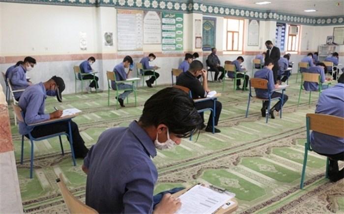امتحانات مدارس در آرامش کامل برگزار می شود