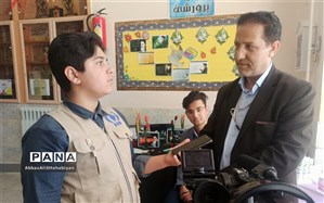 برنامه مستند کلام امام اززبان دانش آموزان،  در کاشمر ساخته شد