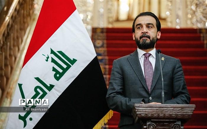 دیدار علی لاریجانی با رئیس مجلس عراق