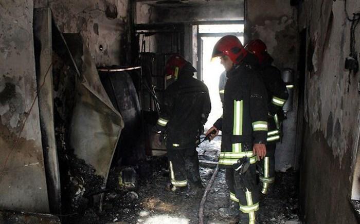 آتش سوزی در انبار تراورس