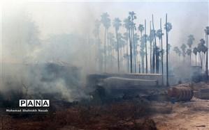"""عاملان آتشسوزی جنگلهای """"خائیز"""" دستگیر شدند"""