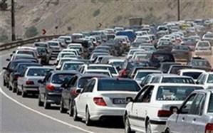 ترافیک در مسیرهای شمالی تهران نیمه سنگین تا سنگین است