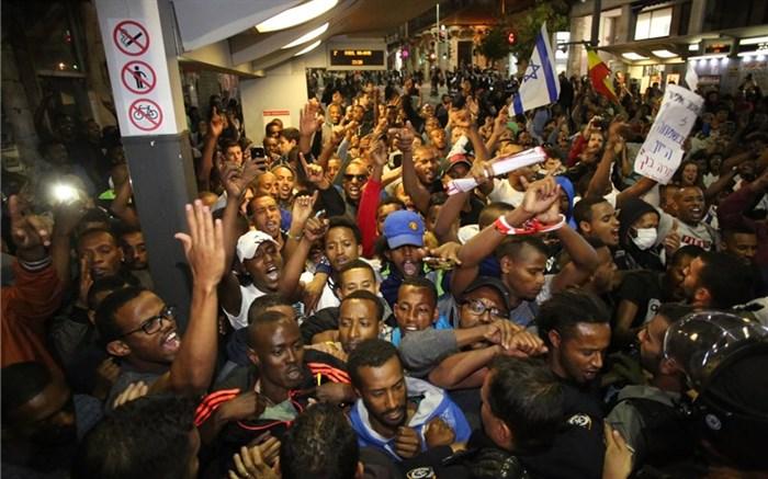 تظاهرات علیه سیاستهای نتانیاهو در تلآویو