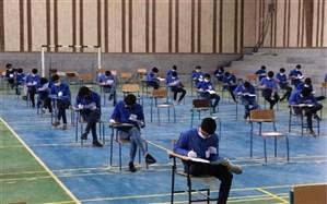 امتحانات نهایی دانش آموزان پایه دوازدهم با رعایت پروتکل های بهداشتی آغاز شد