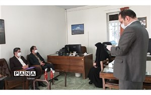 بازدید رئیس اداره ارزیابی عملکرد شهرتهران از حوزه امتحانات نهایی منطقه3