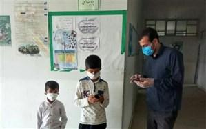 تولید نرمافزار غولک (آموزش الفبا) توسط دو معلم اسدآبادی