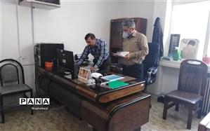 بازدید کارشناس مسئول امورتربیتی اداره کل شهر تهران از فعالیت های حوزه پرورشی منطقه 8