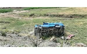 واژگونی وانت نیسان موجب مصدومیت و فوت دو نفر در نیشابور شد