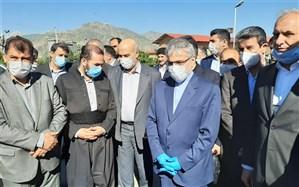 معاونان رییس جمهوری برای بازدید از وضعیت دریاچه ارومیه وارد آذربایجانغربی شدند
