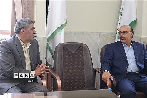 بازدید مشاور معاون پرورشی وزارت آموزش و پرورش از سازمان دانشآموزی کرمان