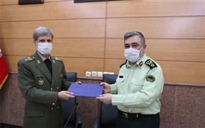 امضای تفاهمنامه همکاریهای مشترک وزارت دفاع و نیروی انتظامی