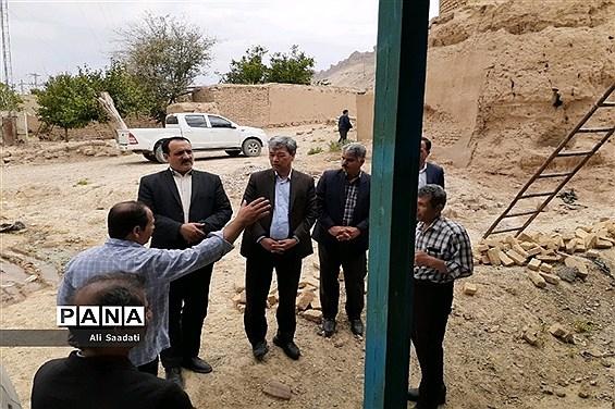 سفر یک روزه مدیرکل نوسازی، توسعه و تجهیز مدارس استان خراسان رضوی به شهرستان کلات نادر