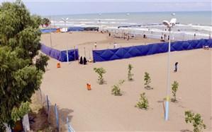 برپایی 78 چادر شنا در سواحل مازندران